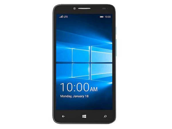 Alcatel OneTouch Fierce XL with 5.5-inch HD display and Windows 10