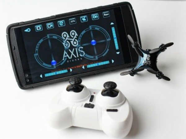 Axis Vidius is world's smallest camera-equipped drone