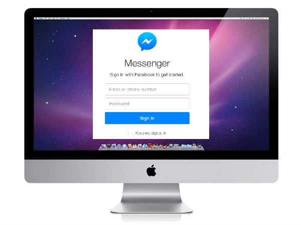 Soon, enjoy Facebook Messenger on Mac computer at home