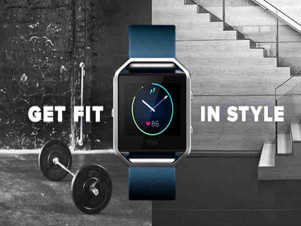 Fitbit Blaze is a fitness focussed, high on style Smartwatch