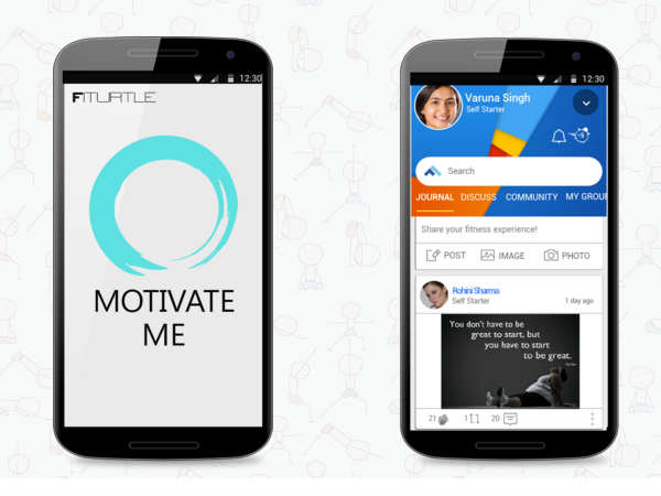 Fiturtle app helps connect with experts for Fitness Routine
