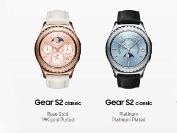 Samsung Announces Two Variants for Gear S2 Smartwatch