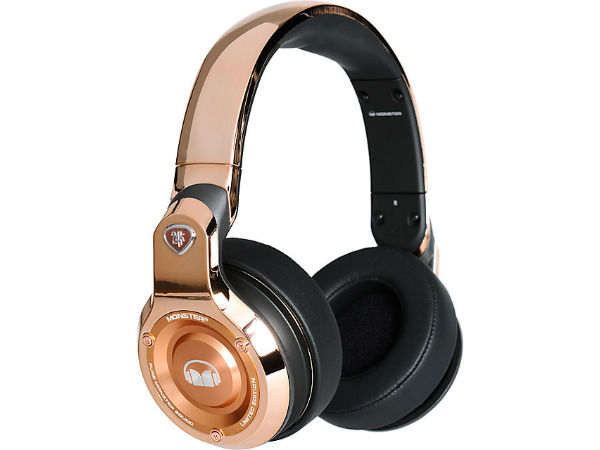 Monster shows off headsets in trendy Rose Gold colour, to rival Beats