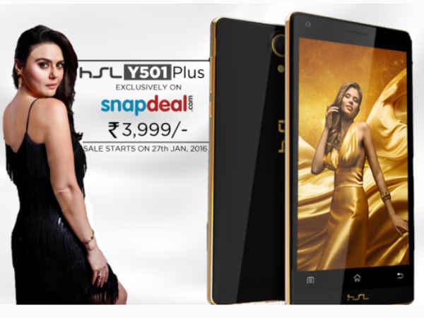 Meet HSL Y501 Plus: A Phone as strong as a Hammer!