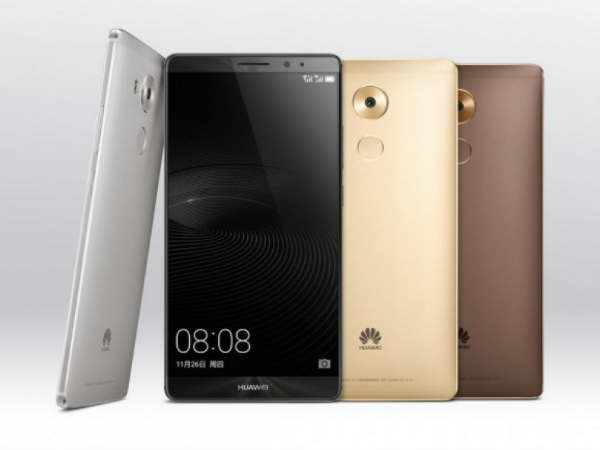 Huawei Mate 8 Phablet Global Variant Announced