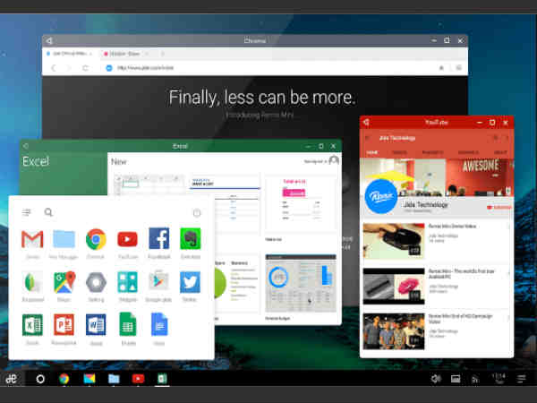 Remix OS is Android for your Desktop PC