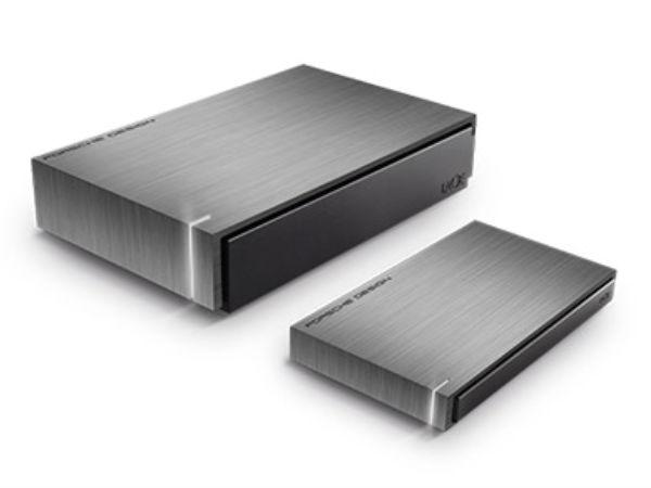 LaCie's latest hard drives comes with USB-C, Porsche Design