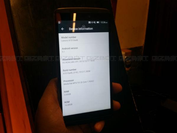 Lenovo Vibe K4 Note First Impressions