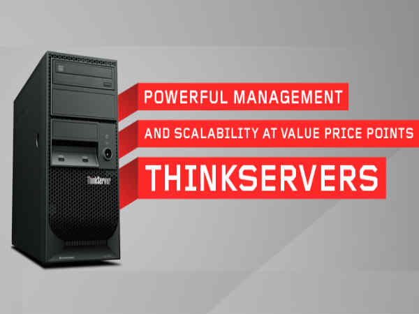 Lenovo launches servers for Indian SMEs