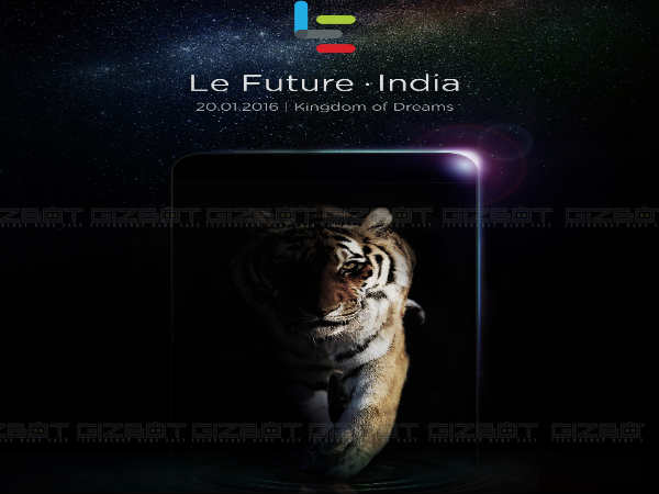 Letv Le Max to launch in India on January 20, Le 1s also expected
