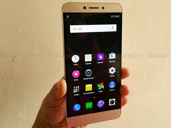 LeEco Launches Le 1s with Helio X10 CPU, Fingerprint Sensor in India