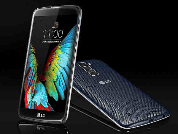 LG K7 and K10 smartphones launched with Gesture enabled Camera control