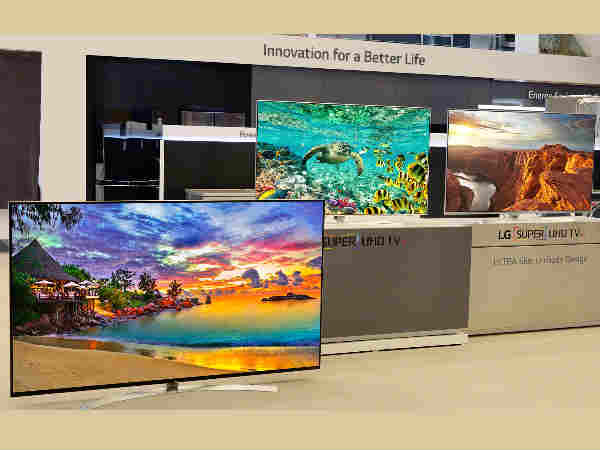 LG Super UHD TV Lineup Include First Production 8K Set
