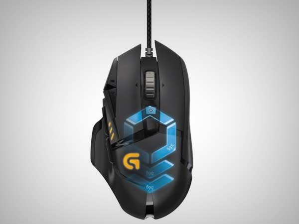 Logitech G502 Proteus Gaming Mouse with RGB Lighting launched