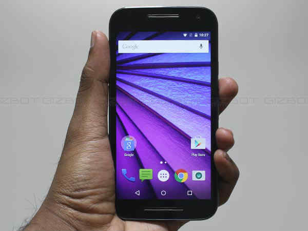 Motorola Moto G3 To Taste Android 6.0 Marshmallow