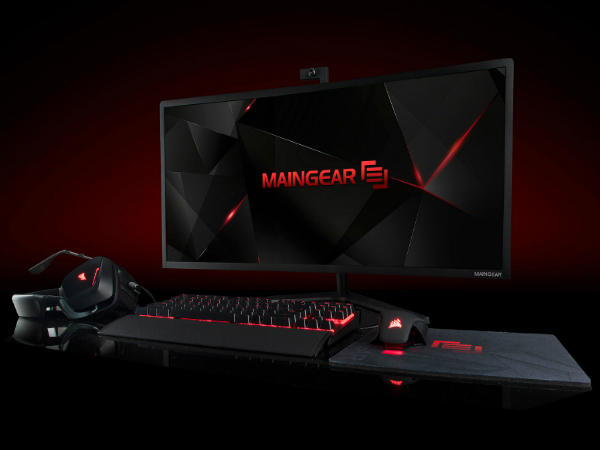 Maingear Alpha 34 is a 34-inch Curved Gaming AIO PC launched