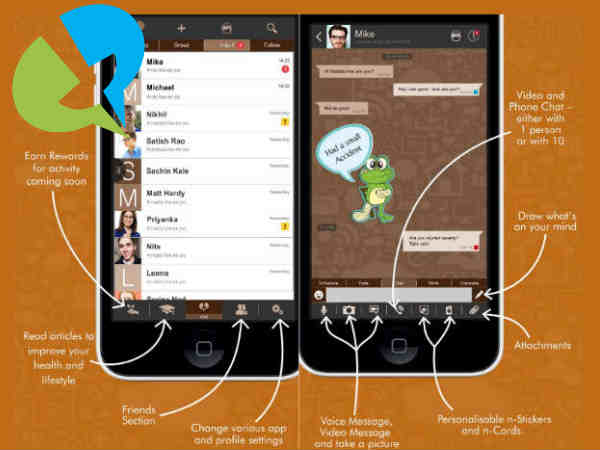 n-gage launches messaging app in India