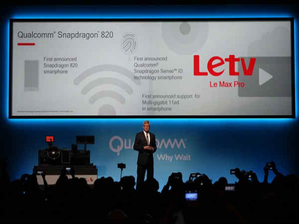 LeTV Le Max Pro: First Smartphone to Come Powered By Snapdragon 820