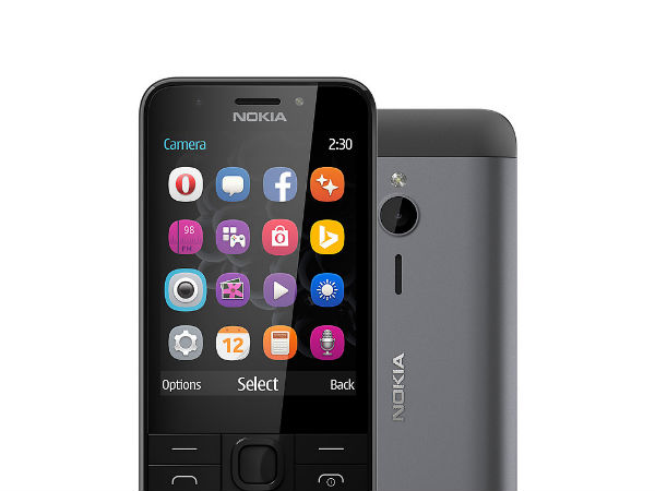 Nokia 230 Dual SIM launched at Rs 3,949