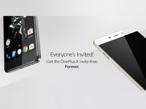 Now Buy an OnePlus X without bothering about an Invite!