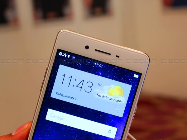 Oppo F1 is the Perfect Smartphone for Selfie Freaks! First Impressions