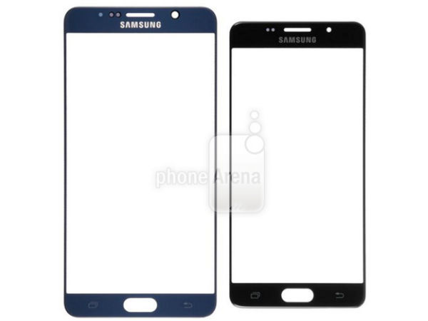 Samsung Galaxy S7 front panels leaks, compared with older Flagships