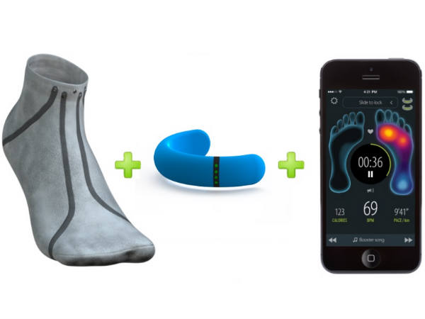 'Smart' socks to help prevent diabetic foot ulcers
