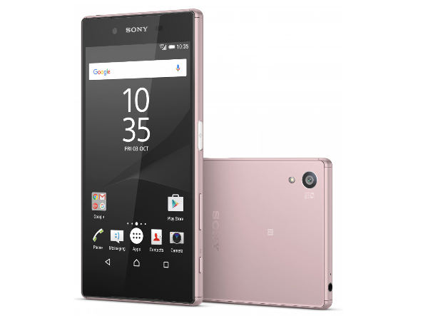 Sony Xperia Z5 Pink Variant launched, to go on sale just before fab 14