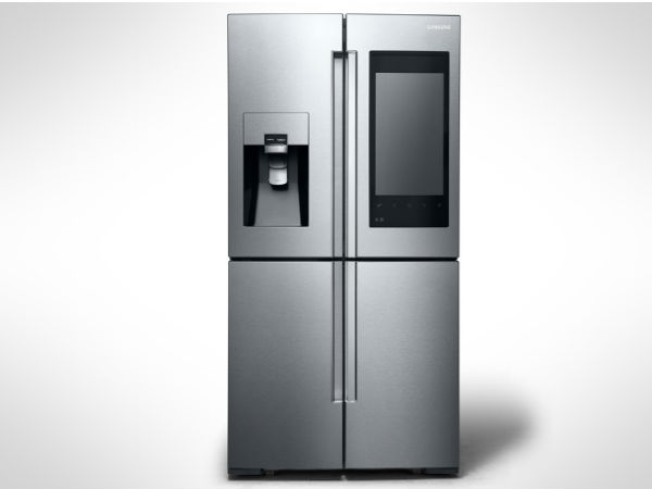 Samsung's New Smart Fridge will tell you when your food will expire!