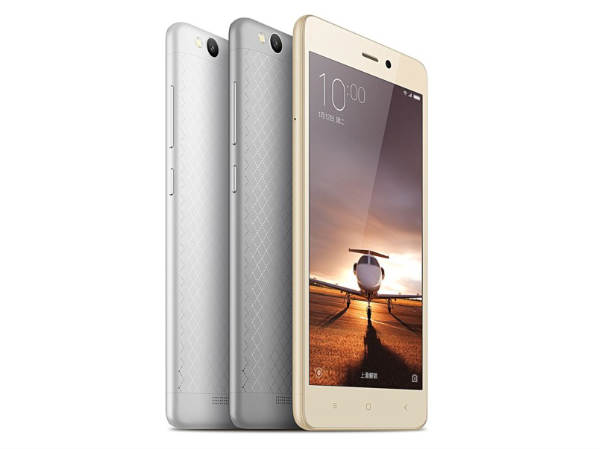 Xiaomi Redmi 3 with Metal Body, Snapdragon 616, 4100mAH battery launch