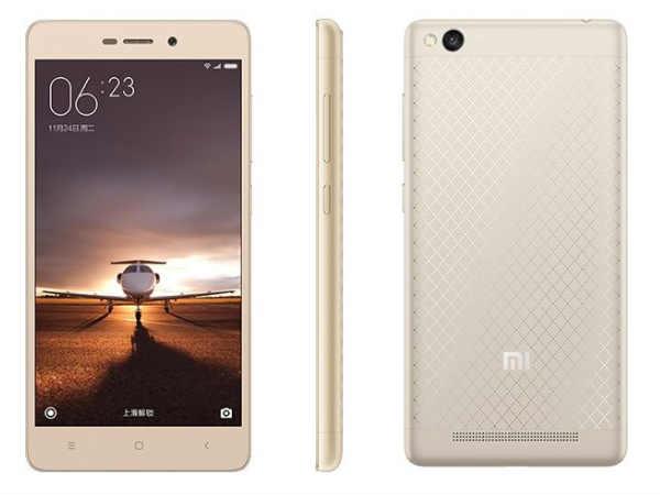 Xiaomi Redmi 3 with Metal Body, Snapdragon 616, 4100mAH battery launch