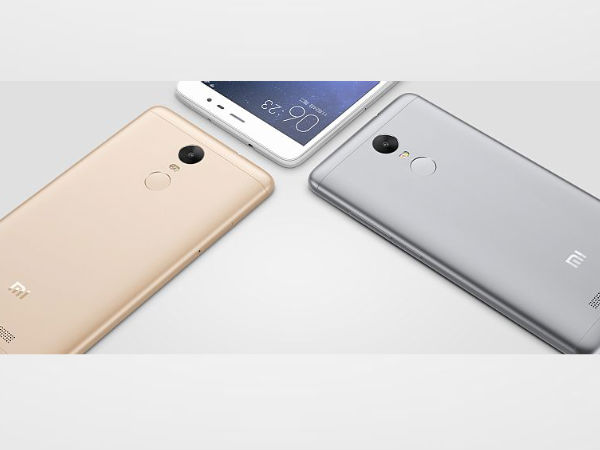 Xiaomi Redmi Note 3 with Snapdragon 650, 16MP 4K camera launched