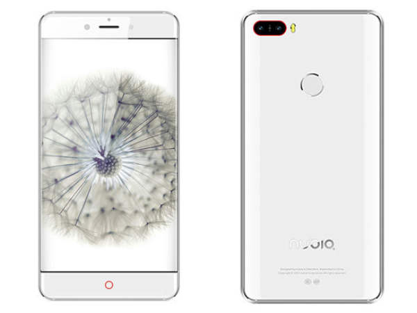 Nubia Z11 renders reveal Dual Rear Cameras, Bezel-less Design