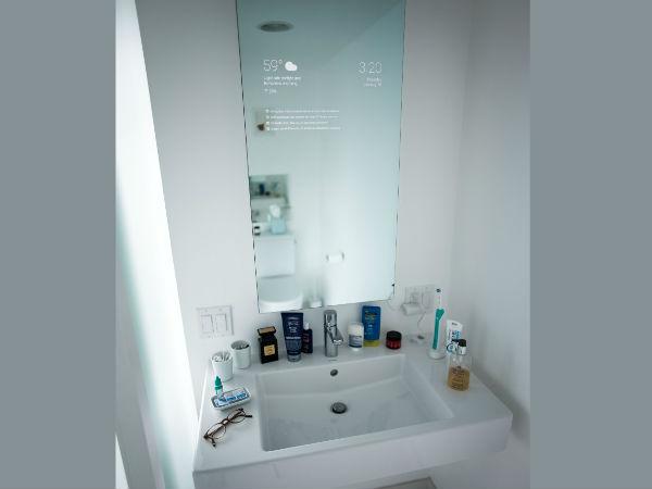 Google Engineer Invented His Own Smart Bathroom Mirror