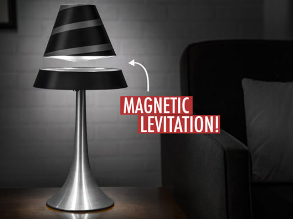 Levitating lamp for your bedroom!