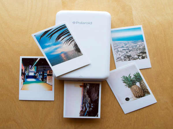 A Pocket-friendly camera that prints without ink