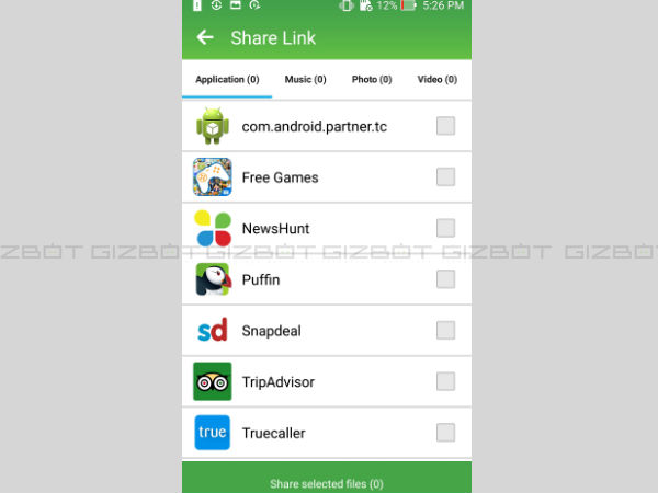 Share Link for transferring files to and from Android phone and PCs