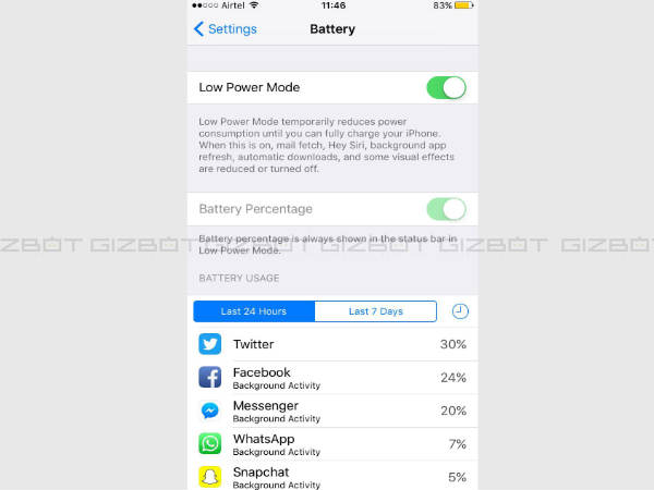 iphone battery saver mode top 10 tips and tricks to use your apple iphone 6s 6s 15189