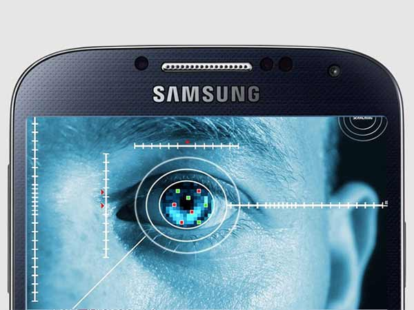 IRIS SCANNER FOR INCREASED SECURITY