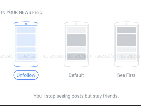 Eliminate a friend's posts