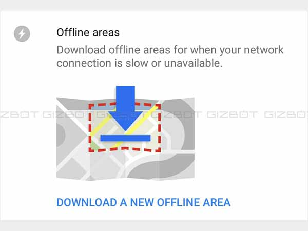 Use Google Maps Offline