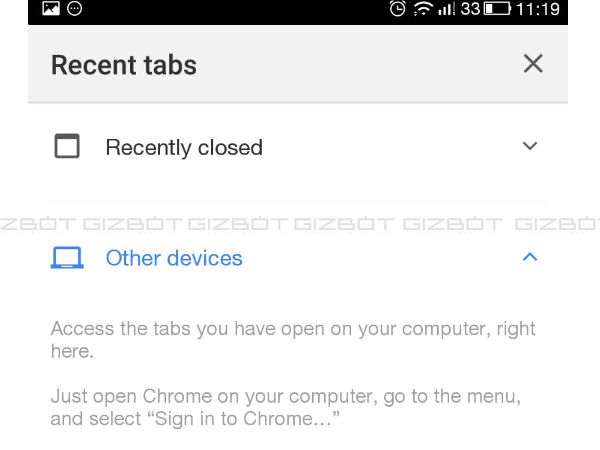 Sync Google Chrome with all devices