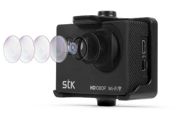 New Action Camera Launched to Hinder Go Pro's Prophecy at Rs 12,499
