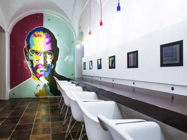 Take an inside look at the new Apple Museum in Prague