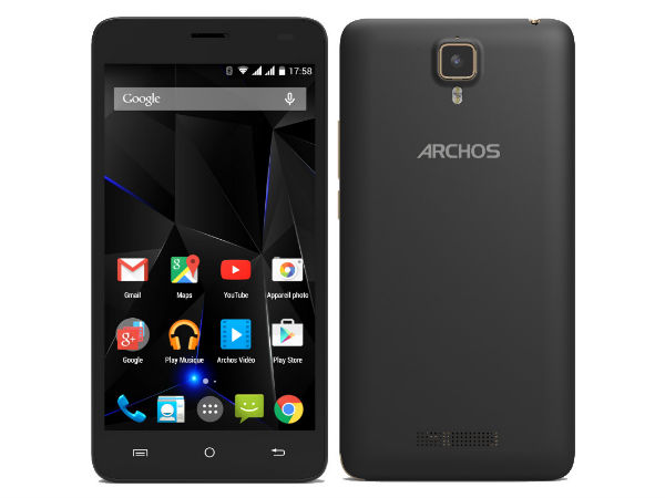 France-based Archos Announced its 4G Enabled Mid-Range Smartphone