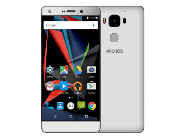 Archos Launches Diamond 2 Plus with USB Type-C, 4GB RAM