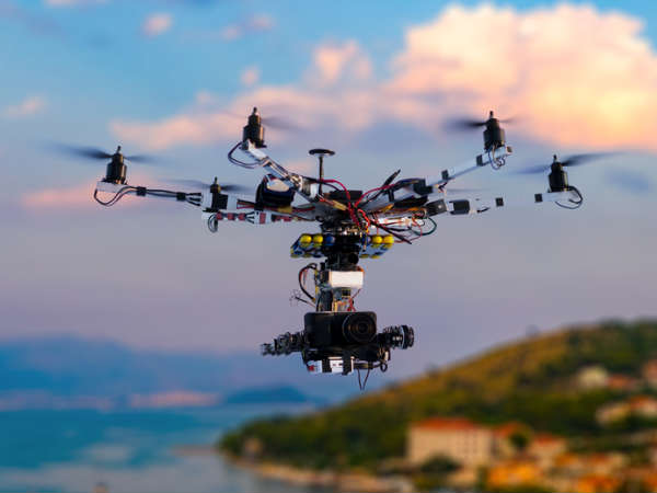 Drones helping scientists collect high-resolution data