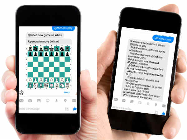 Now, play chess on Facebook Messenger!