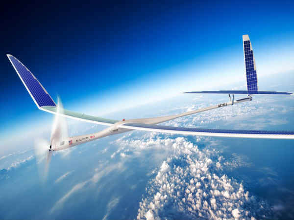 Google secretly making use of Solar Drones to test 5G Internet