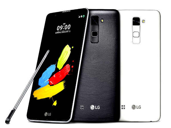 LG Announces Stylus 2 Smartphone with 13MP Camea, Android 6.0 OS
